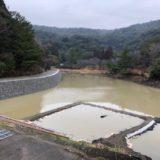 観音ヶ池に水が溜まってきましたよ!
